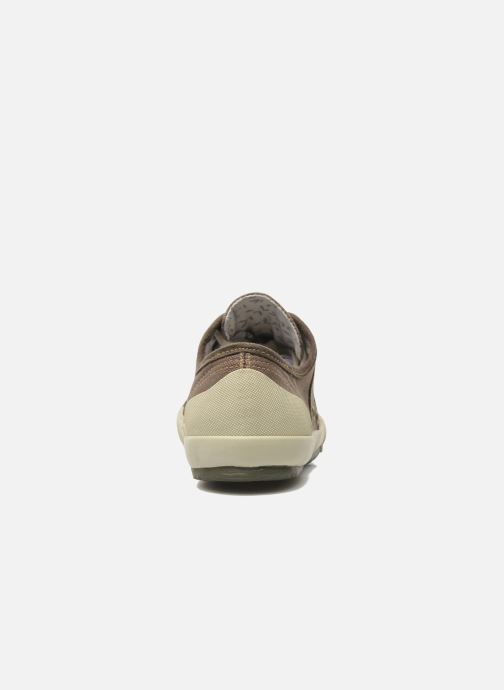Sneaker TBS Opiace braun ansicht von rechts