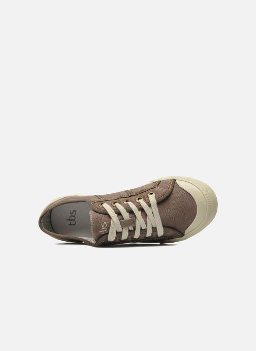 Sneaker TBS Opiace braun ansicht von links