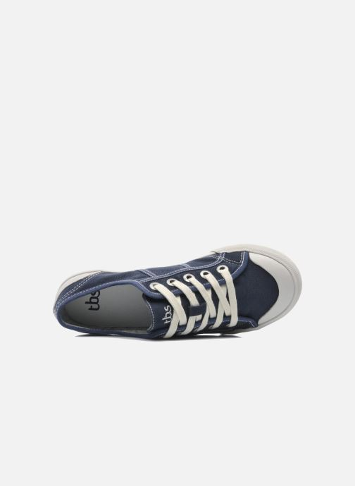 Trainers TBS Opiace Blue view from the left