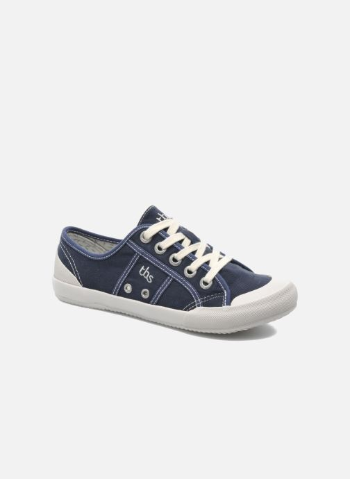 Sneakers TBS Opiace Blauw detail