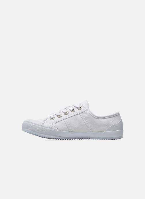 Sneaker TBS Opiace weiß ansicht von vorne