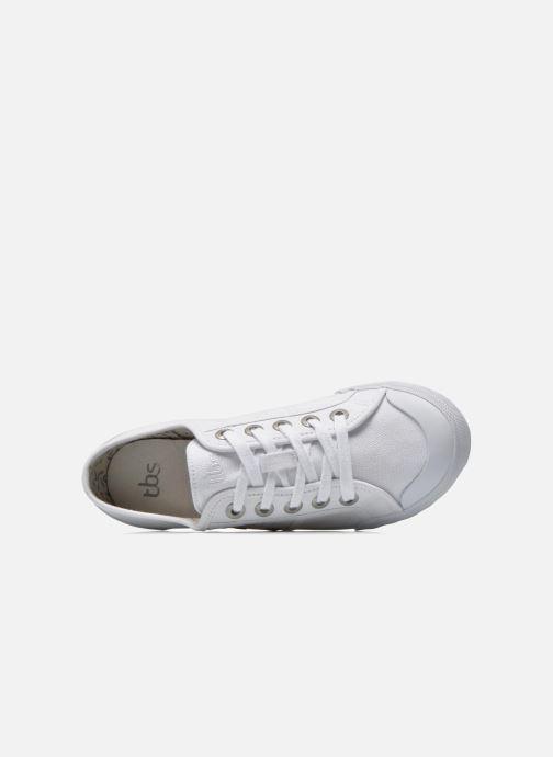 Sneaker TBS Opiace weiß ansicht von links