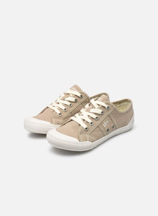 Sneakers TBS Opiace Beige immagine dal basso