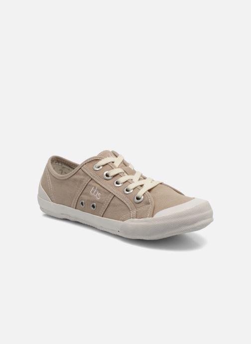 Sneakers TBS Opiace Beige detail