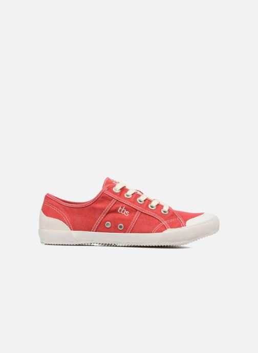 Sneakers TBS Opiace Rood achterkant