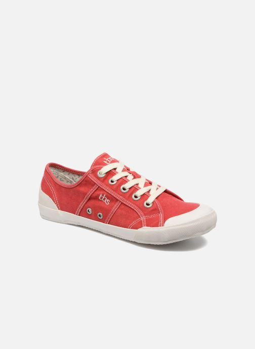 Sneakers TBS Opiace Rood detail