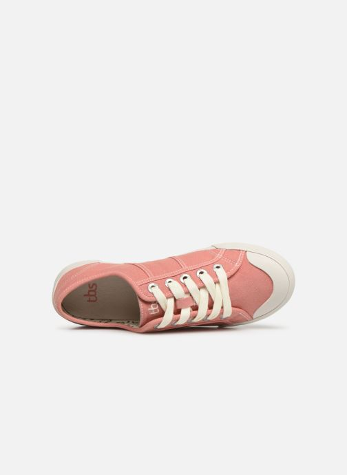 Sneakers TBS Opiace Rosa immagine sinistra