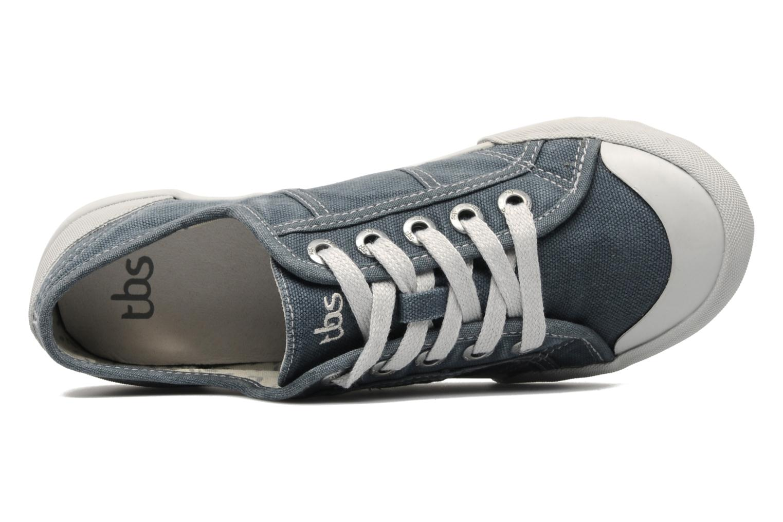 Sneaker TBS Opiace grau ansicht von links