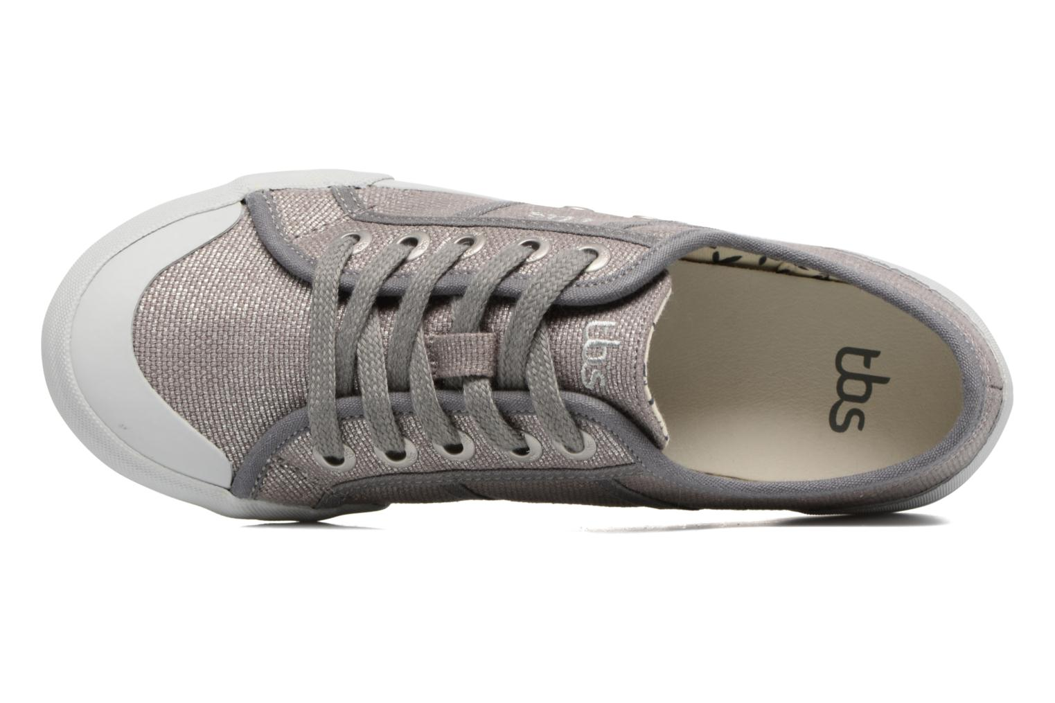 Trainers TBS Opiace Grey back view