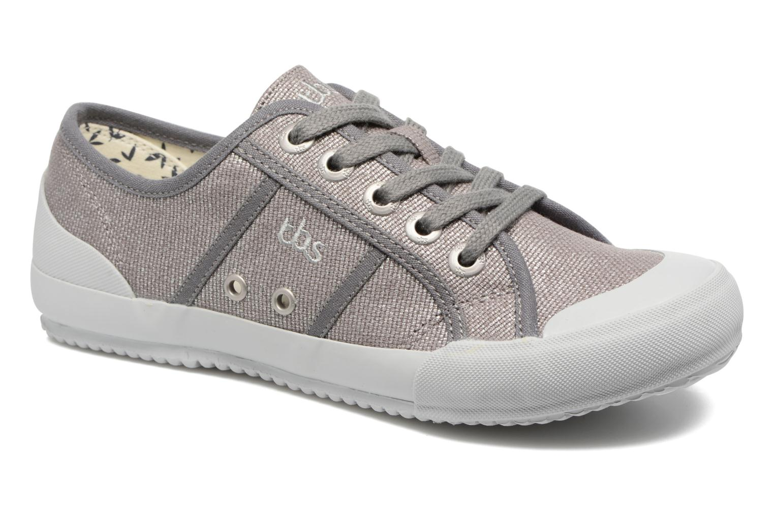 Trainers TBS Opiace Grey detailed view/ Pair view