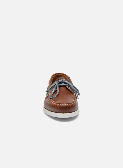 Lace-up shoes TBS Phenis Brown model view