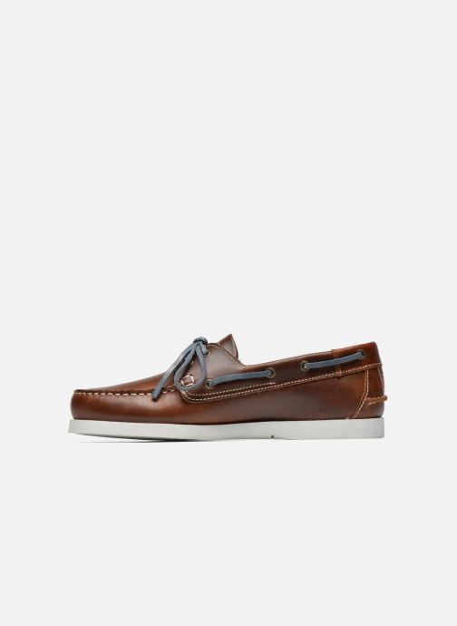 Lace-up shoes TBS Phenis Brown front view
