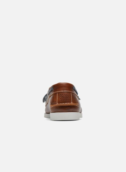 Zapatos con cordones TBS Phenis EW Marrón vista lateral derecha