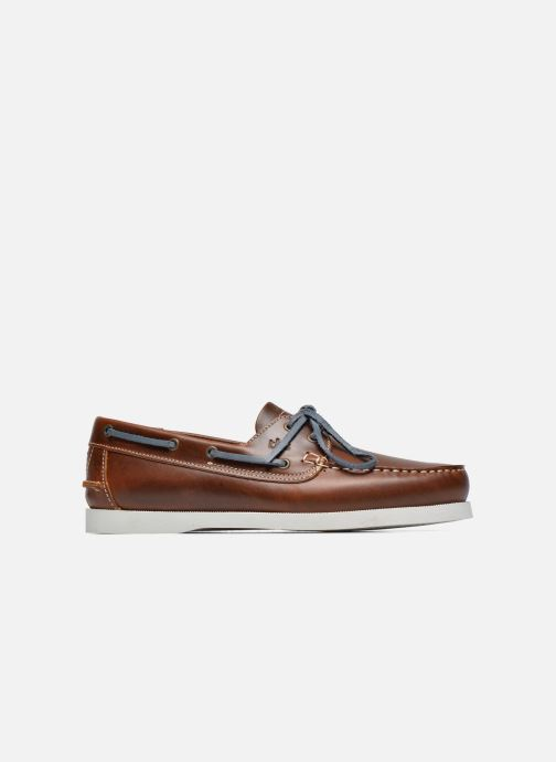 Lace-up shoes TBS Phenis Brown back view