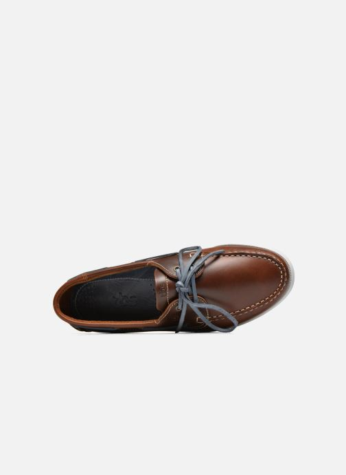 Lace-up shoes TBS Phenis EW Brown view from the left