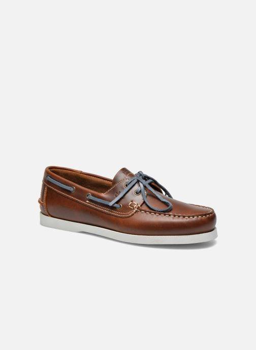 Lace-up shoes TBS Phenis Brown detailed view/ Pair view