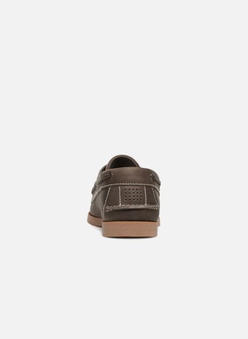 Zapatos con cordones TBS Phenis EW Gris vista lateral derecha
