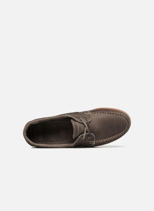 Zapatos con cordones TBS Phenis EW Gris vista lateral izquierda