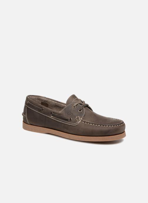 Zapatos con cordones TBS Phenis EW Gris vista de detalle / par