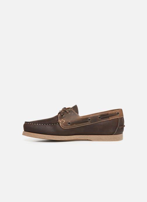 Zapatos con cordones TBS Phenis Marrón vista de frente