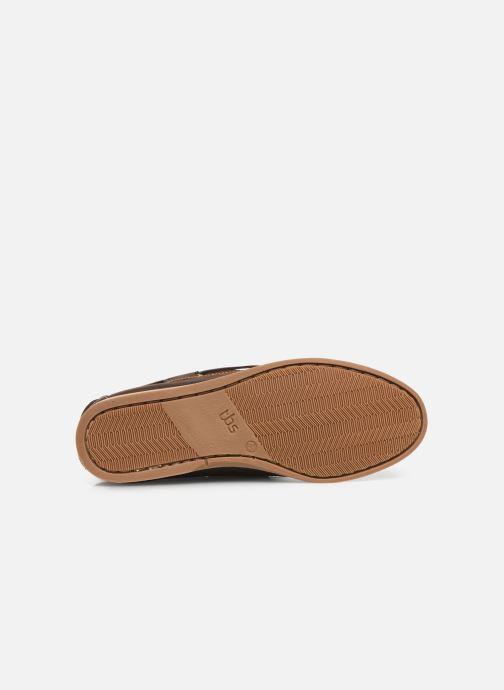Zapatos con cordones TBS Phenis Marrón vista de arriba