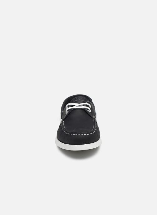 Zapatos con cordones TBS Phenis EW Negro vista del modelo