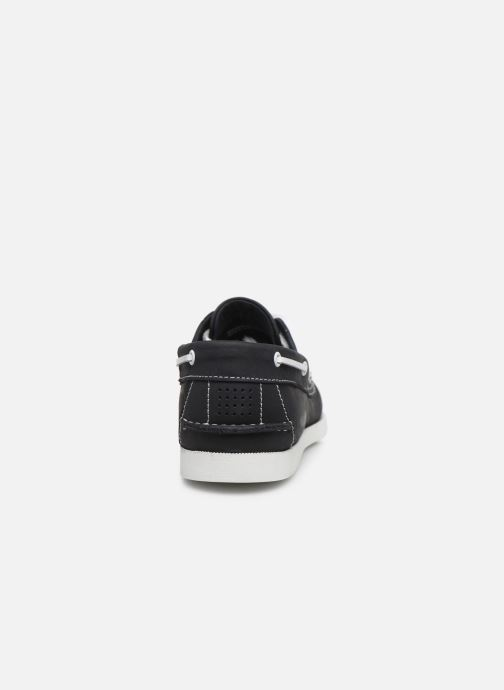 Zapatos con cordones TBS Phenis EW Negro vista lateral derecha