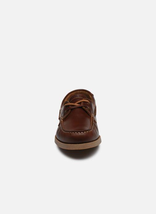 Snörade skor TBS Phenis EW Brun bild av skorna på