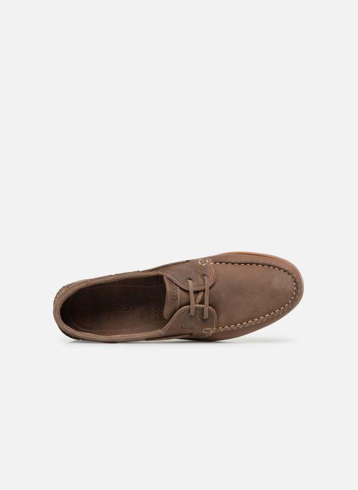 Chaussures à lacets TBS Phenis EW Marron vue gauche