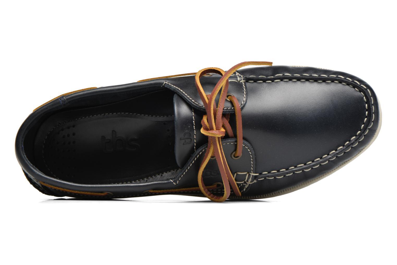 Chaussures à lacets TBS Phenis Bleu vue gauche