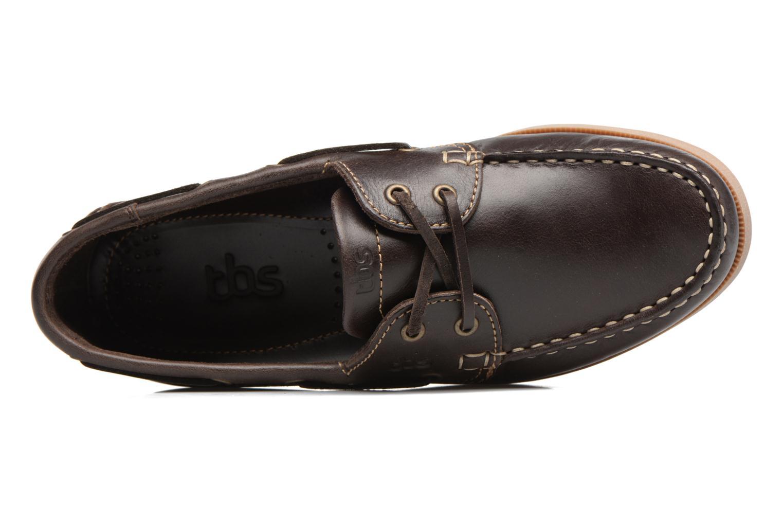 Chaussures à lacets TBS Phenis Noir vue gauche
