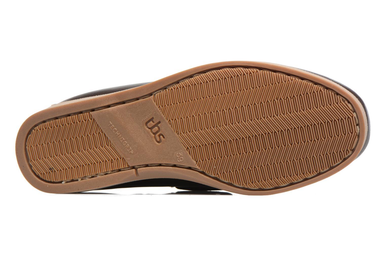 Chaussures à lacets TBS Phenis Noir vue haut