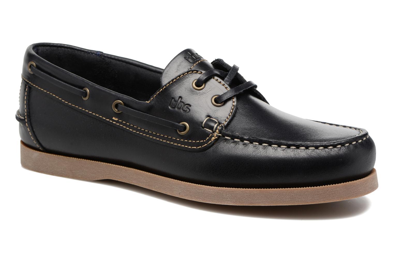 Chaussures à lacets TBS Phenis Noir vue détail/paire
