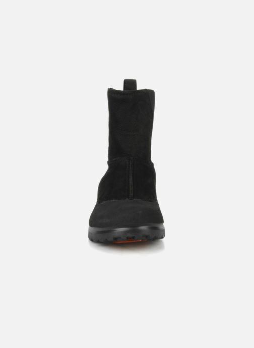 Bottines et boots Crocs Greeley Noir vue portées chaussures
