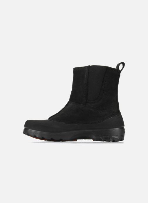 Bottines et boots Crocs Greeley Noir vue face