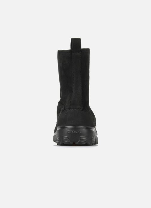 Bottines et boots Crocs Greeley Noir vue droite