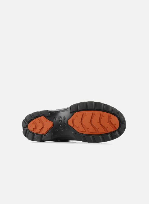 Bottines et boots Crocs Greeley Noir vue haut
