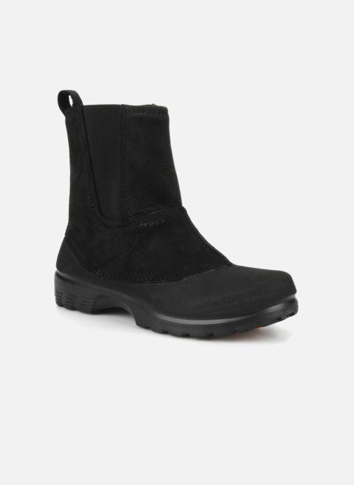 Bottines et boots Crocs Greeley Noir vue détail/paire