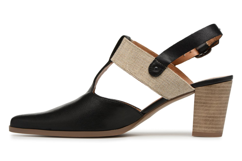 High heels Karston Kzam Black front view