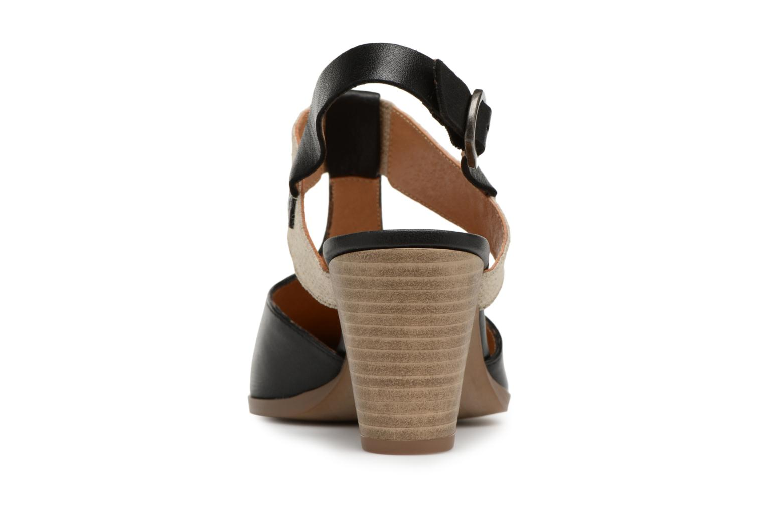 High heels Karston Kzam Black view from the right
