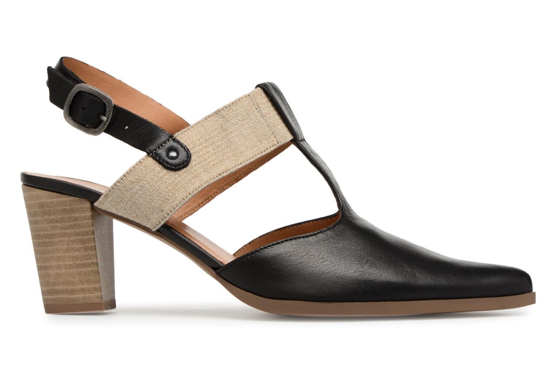 High heels Karston Kzam Black back view