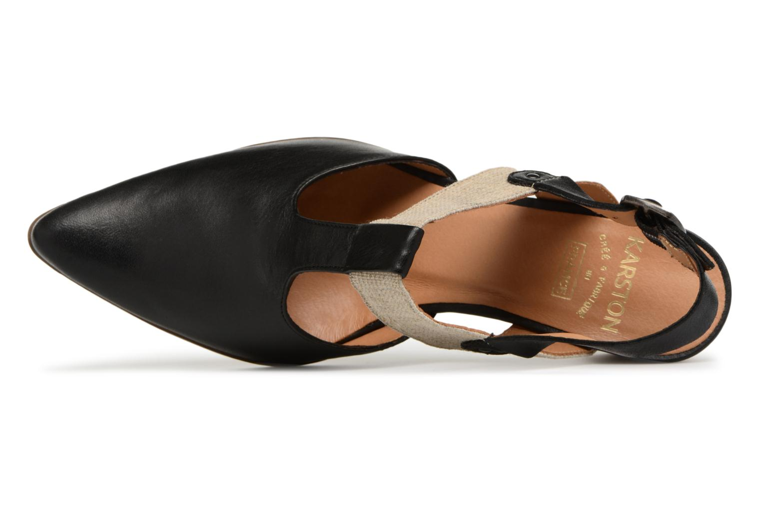 High heels Karston Kzam Black view from the left