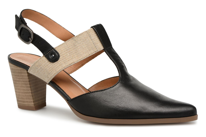 High heels Karston Kzam Black detailed view/ Pair view