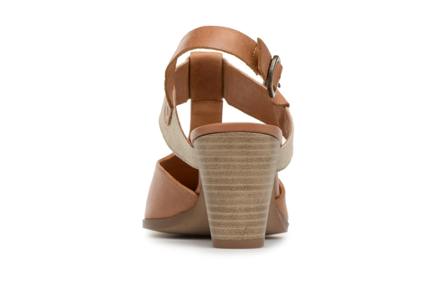 High heels Karston Kzam Brown view from the right
