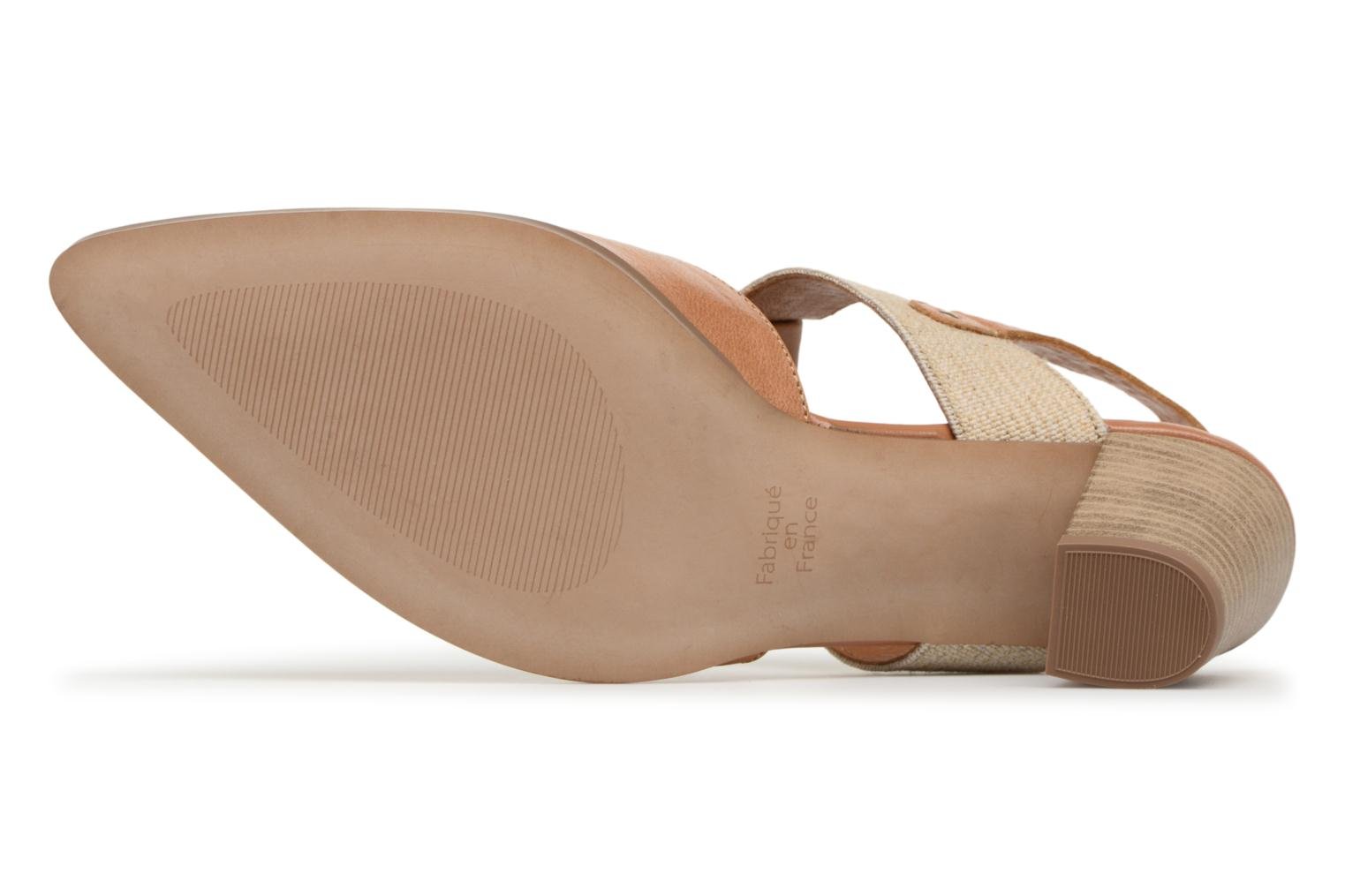 High heels Karston Kzam Brown view from above