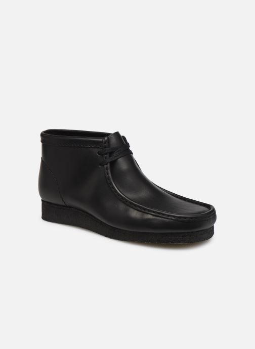 Stiefeletten & Boots Clarks Originals Wallabee boot schwarz detaillierte ansicht/modell