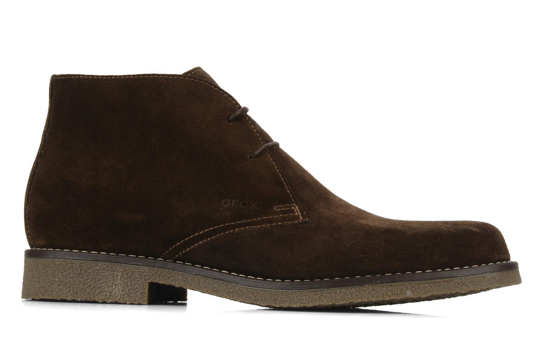 Bottines et boots Geox U claudio b Noir vue derrière
