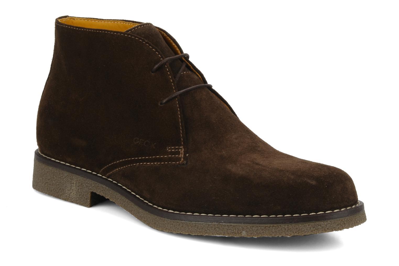 Bottines et boots Geox U claudio b Noir vue détail/paire