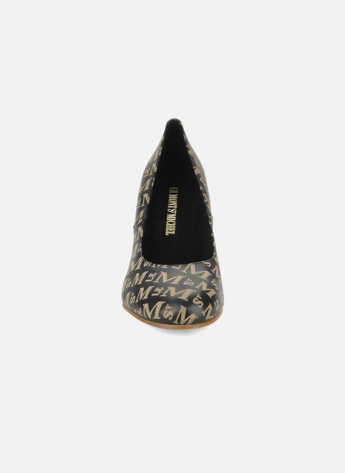 Escarpins Le Mont St Michel Ponoma Noir vue portées chaussures