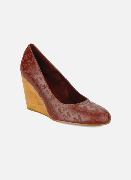 High heels Le Mont St Michel Ponoma Burgundy detailed view/ Pair view